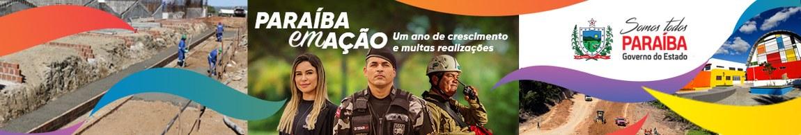 Somos todos Paraíba. Governo da Paraíba