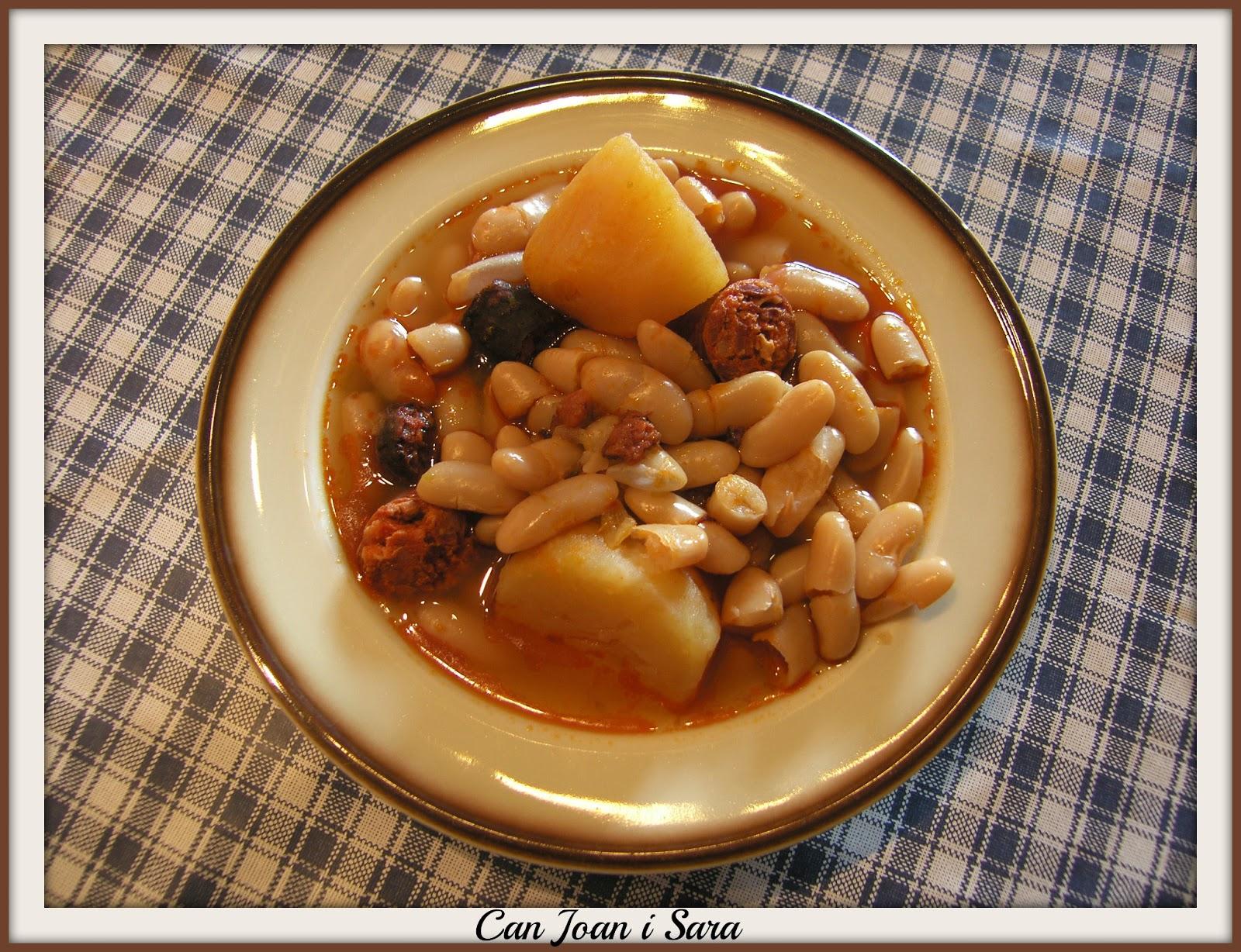 Alubias estofadas en olla express recetas de cocina - Judias verdes en olla express ...