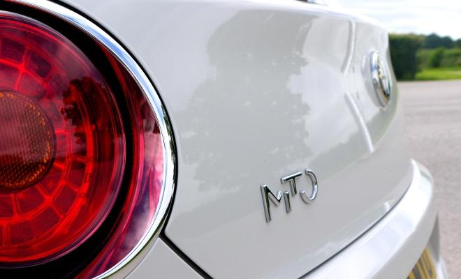 Alfa Romeo Mito TwinAir boot badge