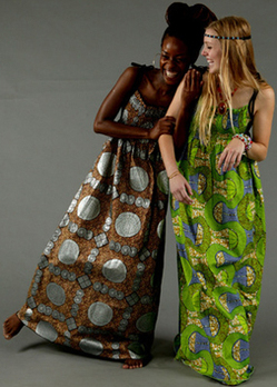 Strapless Maxi Dress on There Is Also A Site In The Uk That Sells African Themed Maxi Dresses