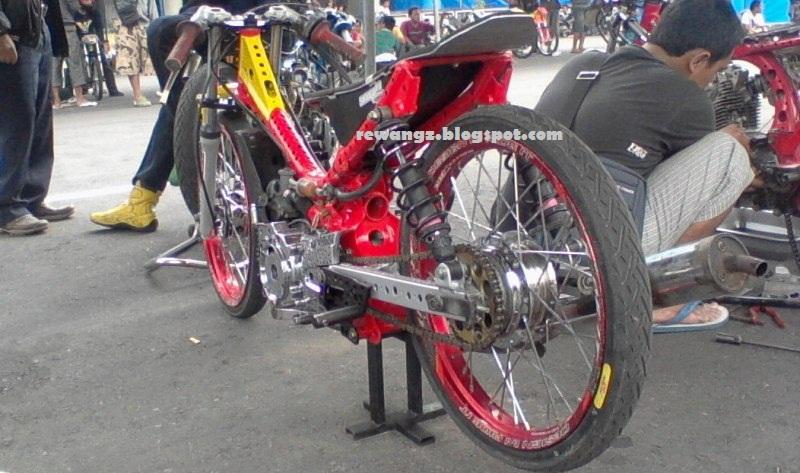 Gambar Sepeda Motor Drag