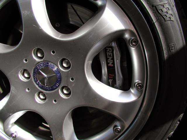 mercedes renntech brakes
