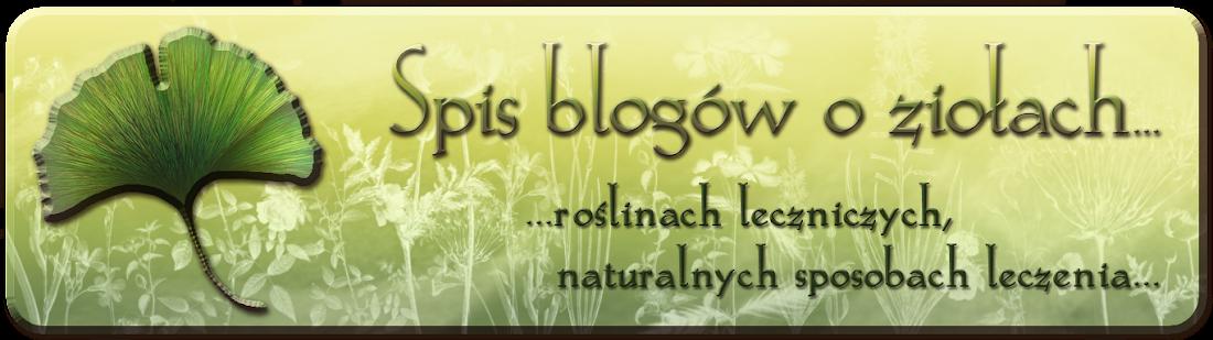 Spis blogów o ziołach...