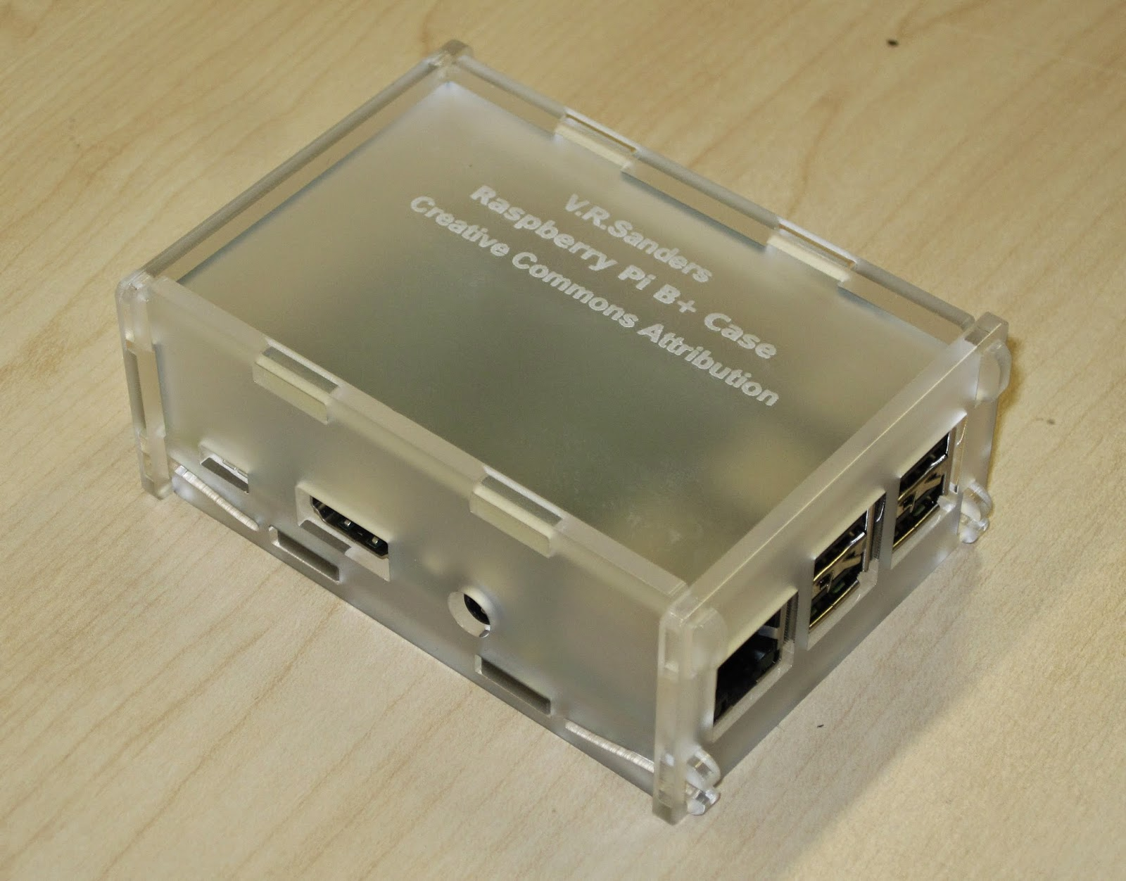 Raspberry pi custom box design for Raspberry pi 3 architecture