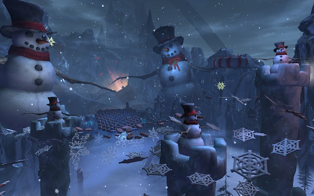 GW2 Guild Wars 2 Wintersday Winter Wonderland jumping puzzle