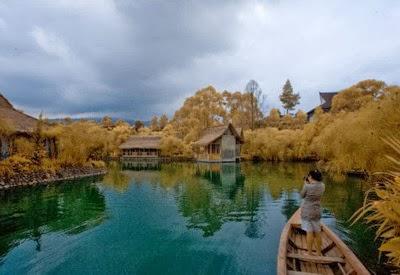 Sapu Lidi Resort dengan Venue Wisata Alam di Lembang Bandung