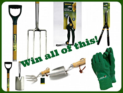 Gardening tools competition prize