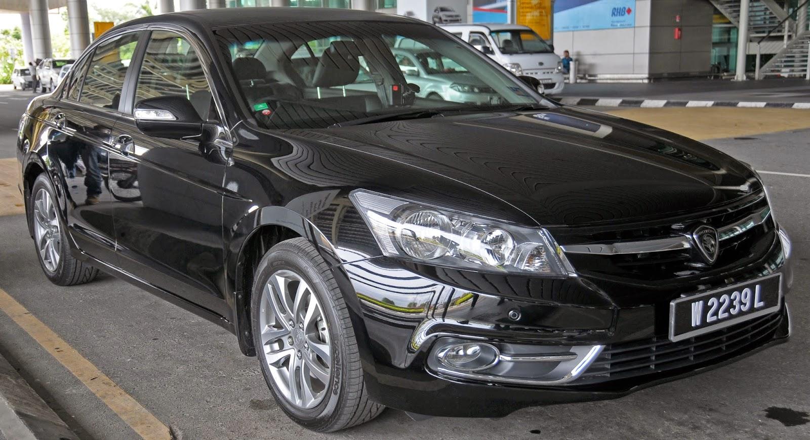 The 2014 Proton Perdana, a rebadged eighth generation Honda Accord.