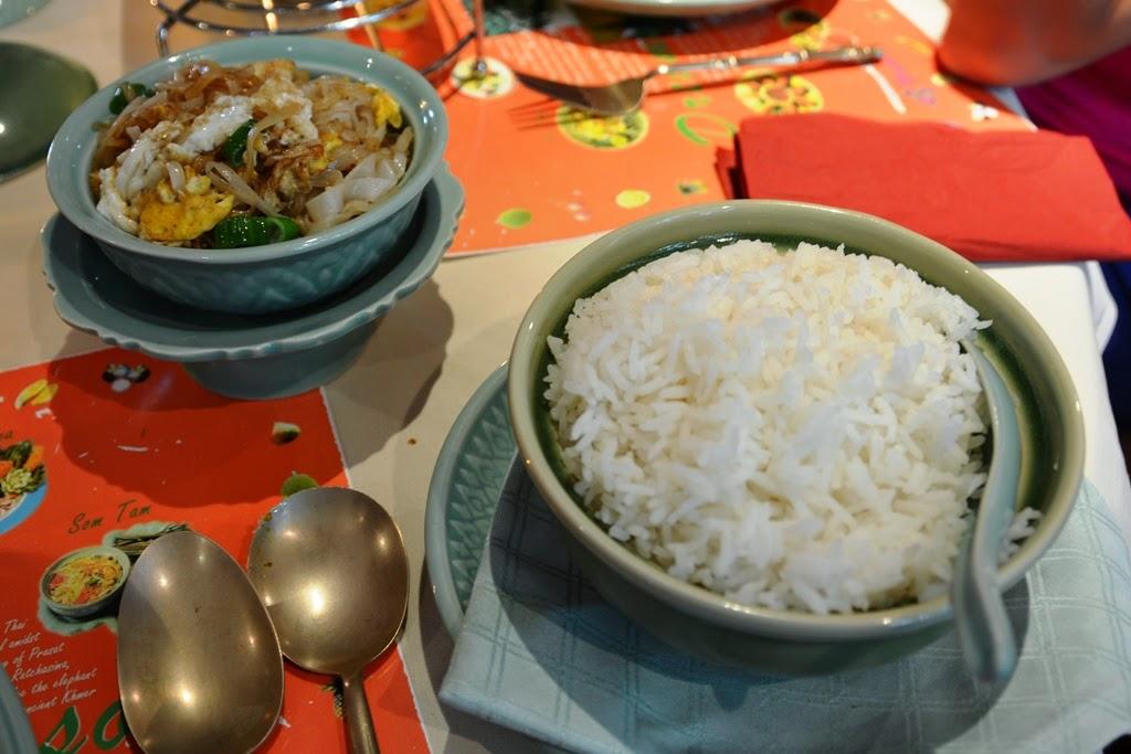Thai Restaurant Sawasdee Wuppertal rice noodles