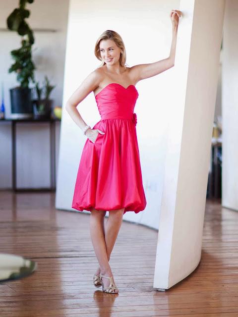 Vestidos cortos elegantes colección 2014