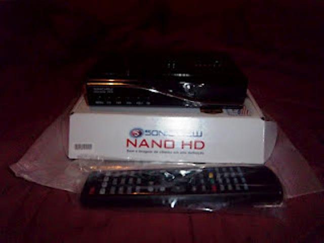 NOVA ATUALIZA O SONIC VIEW SV NANO HD V146 24 07 2013