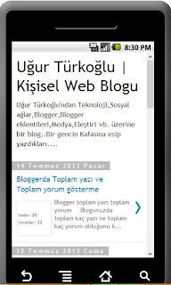 blogunuzun android uygulamasını hazırlayın