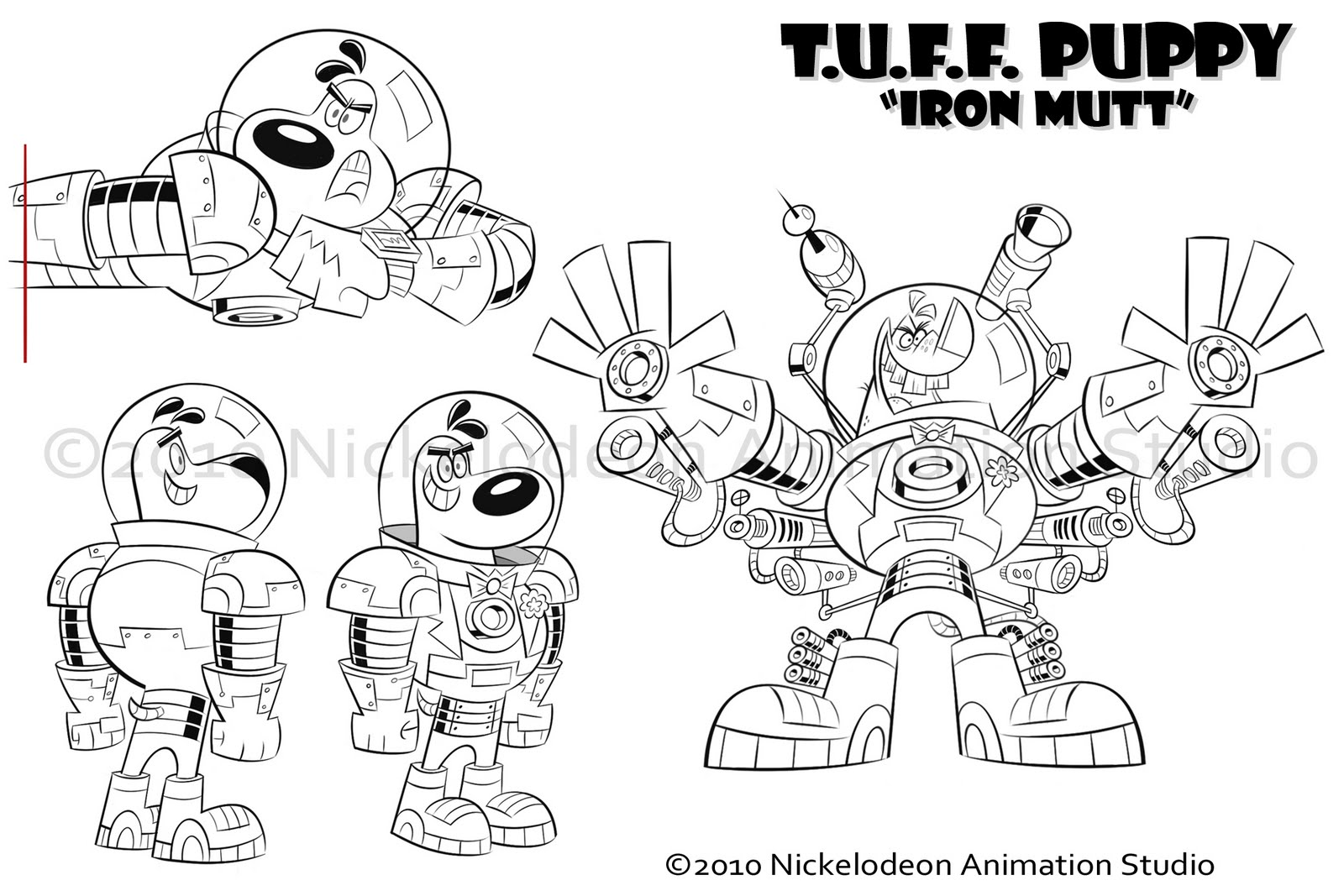 Free Coloring Pages Tuff Puppy Coloring Pages