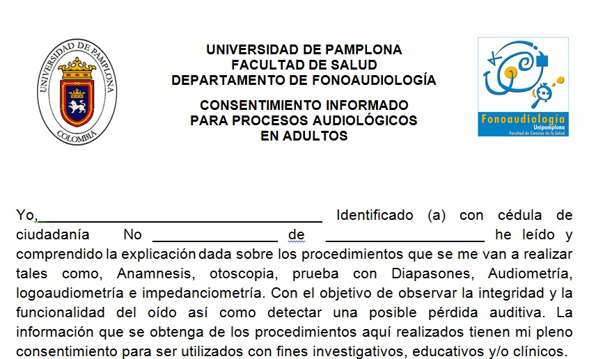 FONOAUDIOLOGIA UNIVERSIDAD DE PAMPLONA VILLA DEL ROSARIO ...