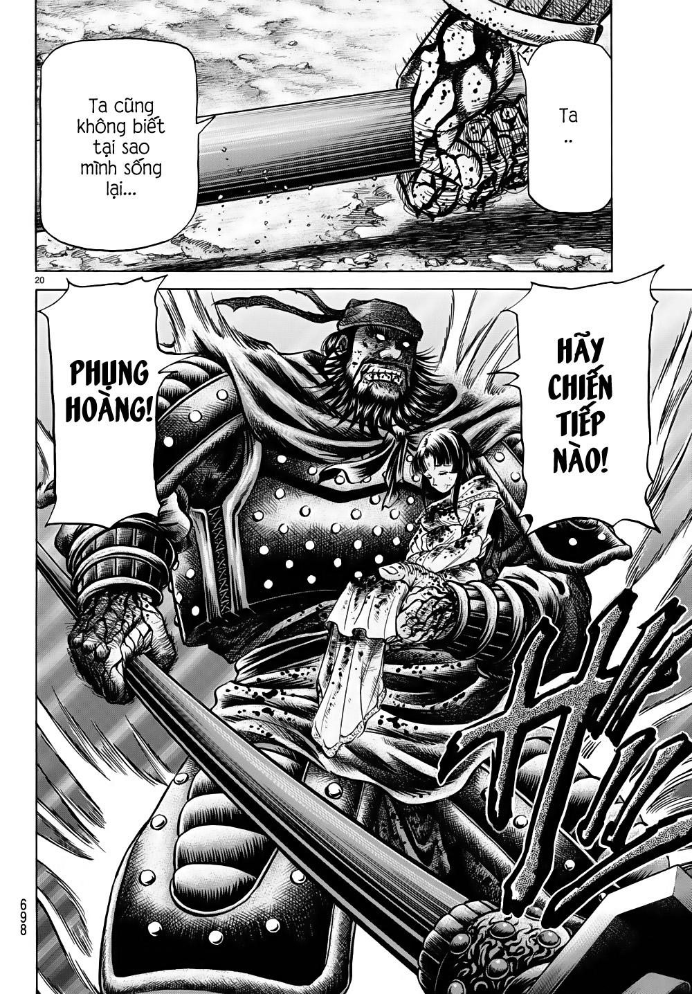 Chú bé rồng-Ryuuroden chap 260 Trang 19 - Mangak.info
