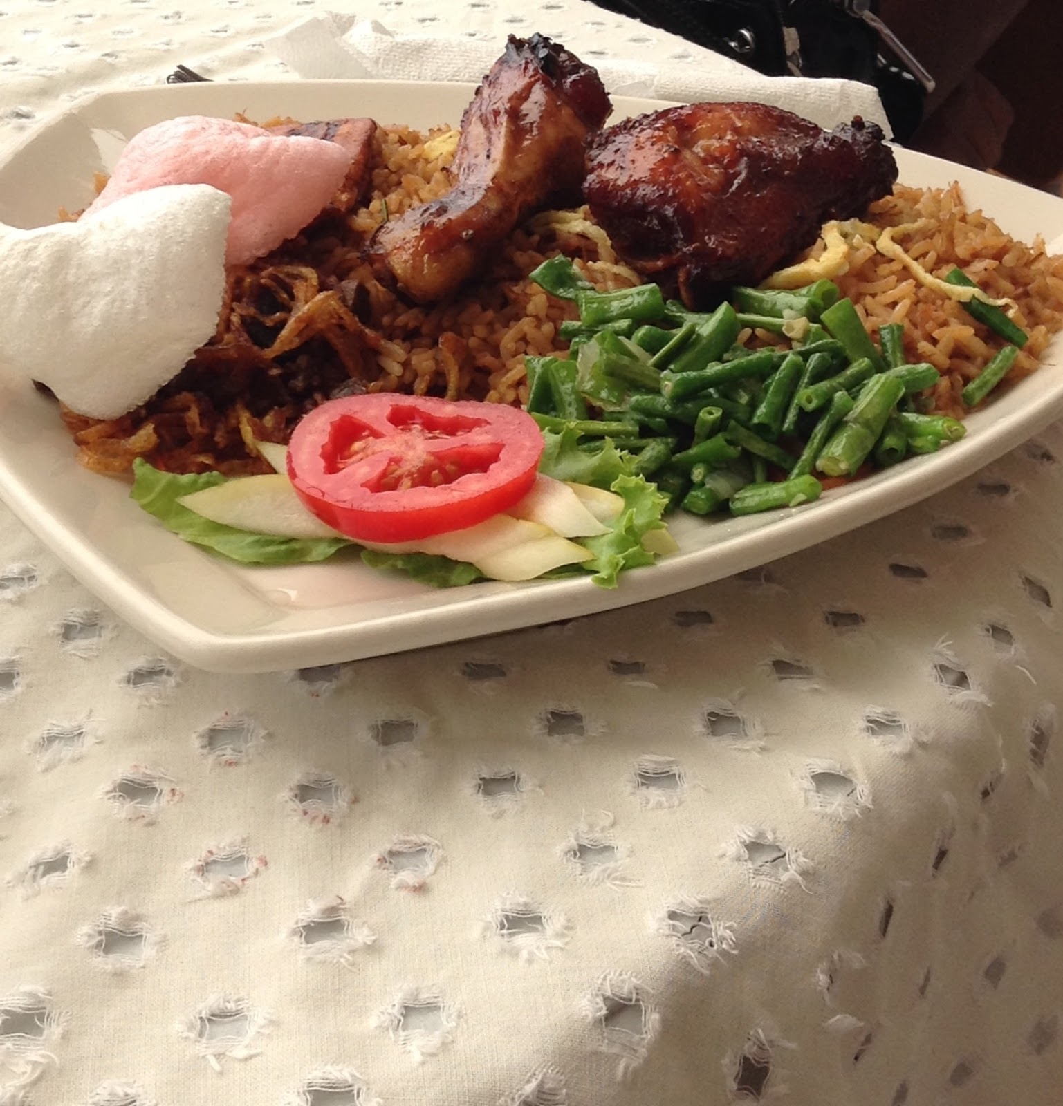 Nasi Surinamese food
