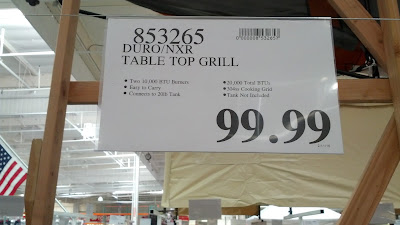 Duro NXR Table Top Grill deal at Costco