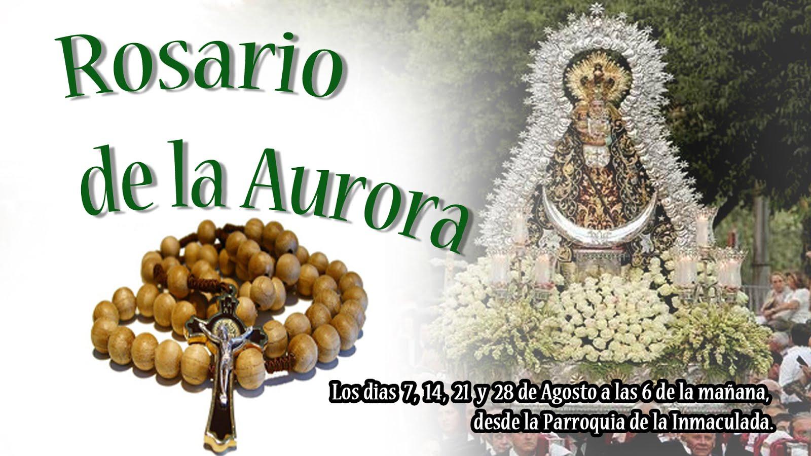ROSARIO DE LA AURORA.