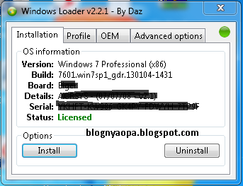 windows loader 2.2 инструкция