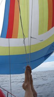 Blistersegeln bei wenig Wind - sehr entspannend!