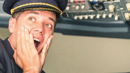 medo de voar de avião