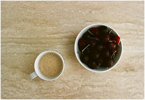 Café+cerezas