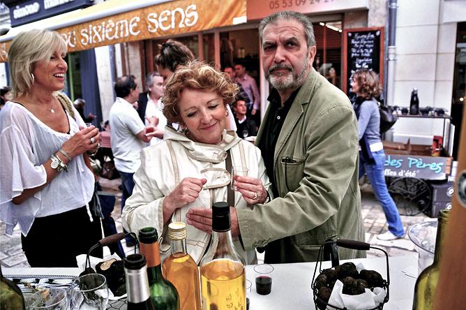 Martine Balout, Gatienne Doat et François Marins