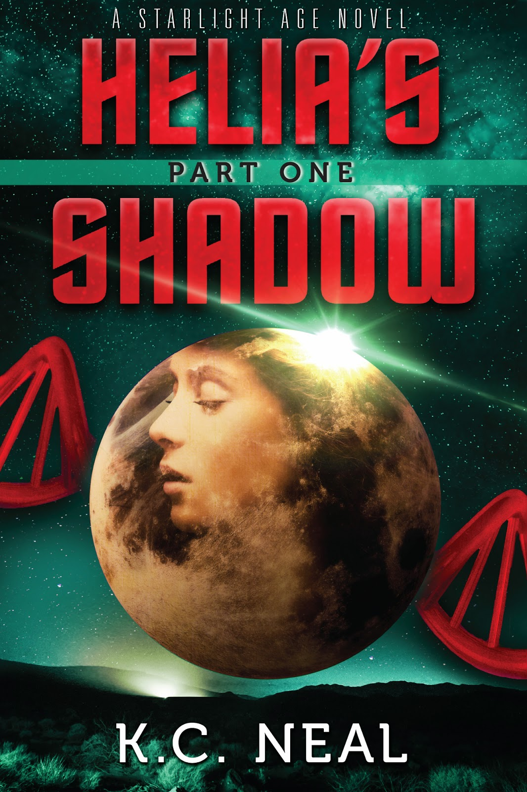 Helia's Shadow by KC Neal - book cover