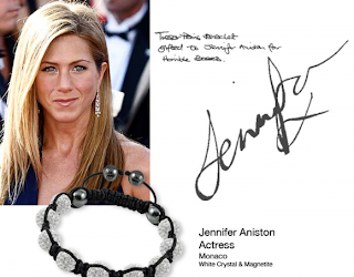shamballa kändisar celebrities Jennifer Aniston