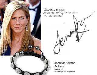 shamballa kändisar celebrities Jennifer Aniston