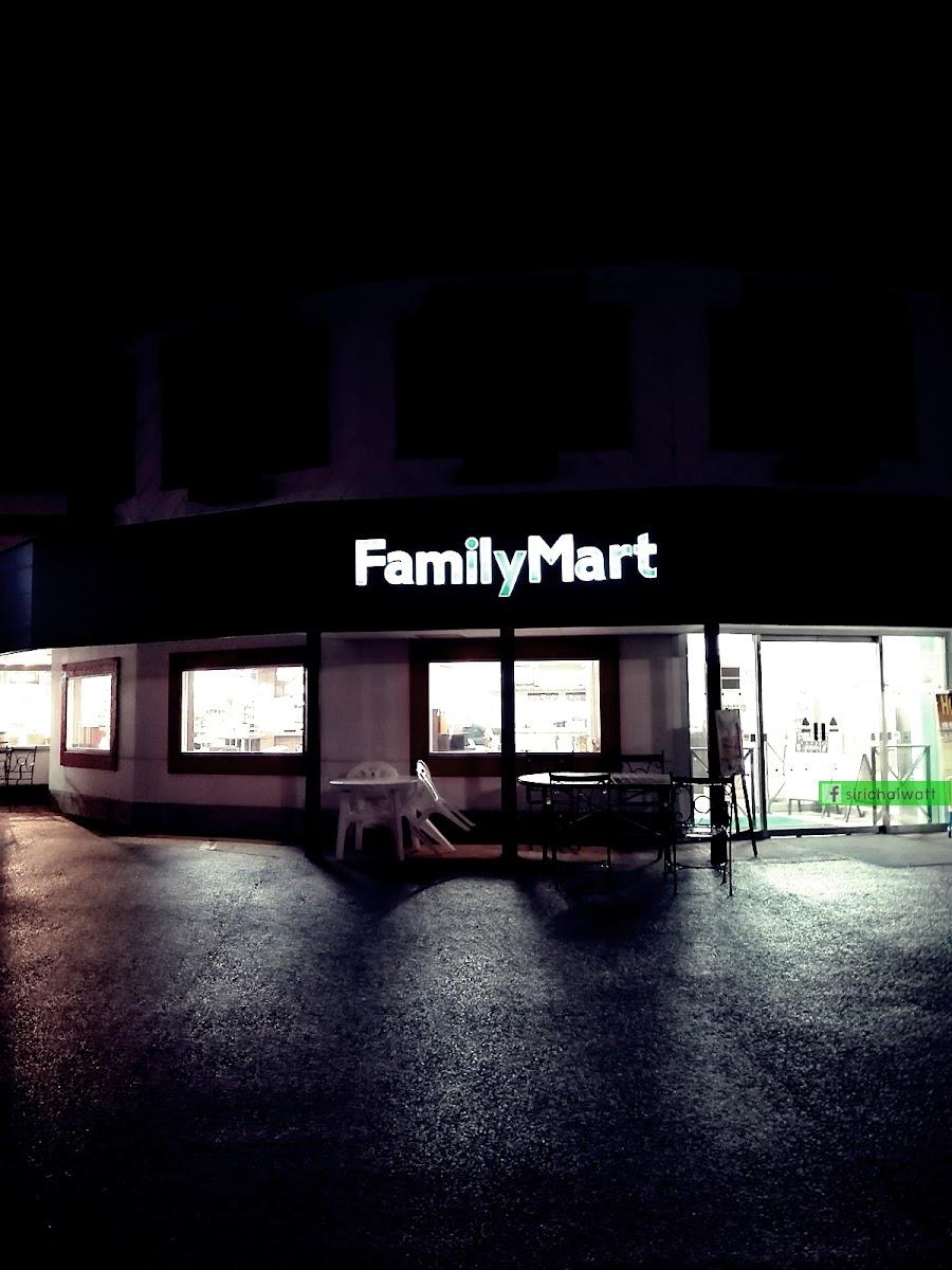FamilyMart ที่มีมากมายในญี่ปุ่น