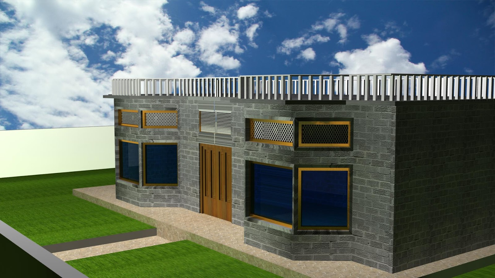 Nadeem Interior And Exterior Home And Building Designer Good In 2D+3D  Modeling And Rendering
