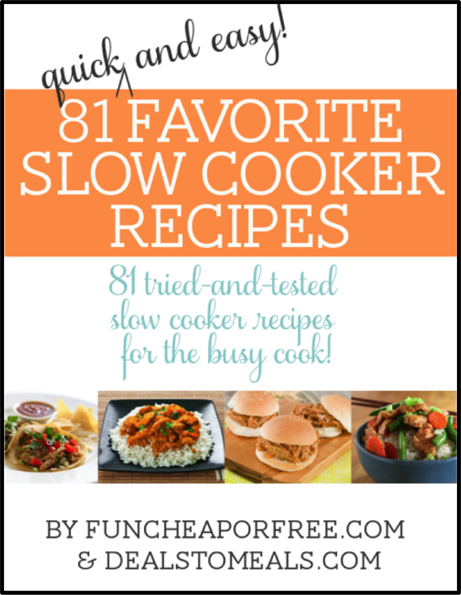 Slow Cooker E-Book