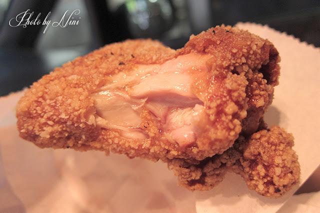 【台中神岡美食】阿國香雞排。強力激推必吃爆汁雞翅