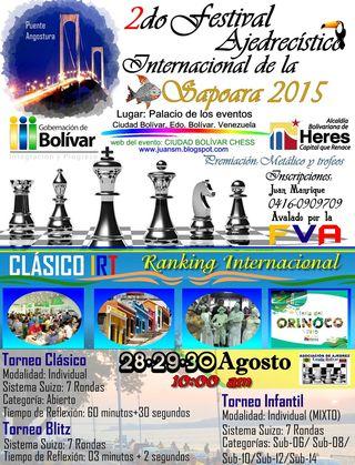 "2do ""Festival Ajedrecístico de la Sapoara"""