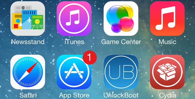 IOS 7 Cydia icon