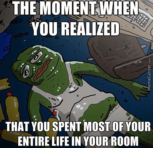 Pepe The Frog Moment You Realized