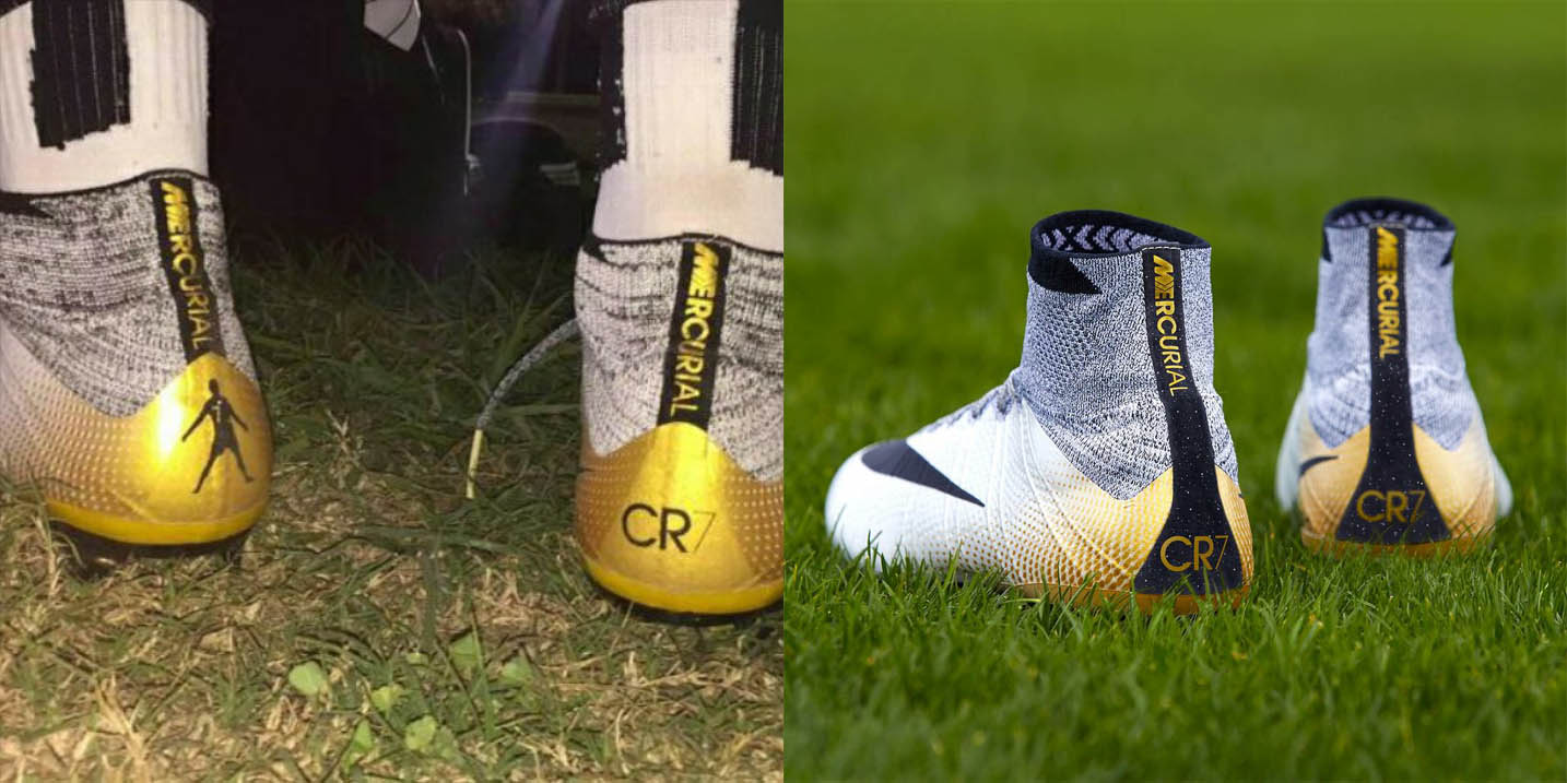 Cr7 cleats limited edition 2014
