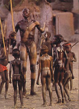 Erotic tribal male dance shows