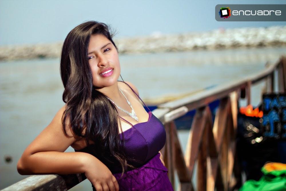 fotos quinceañera peru playa