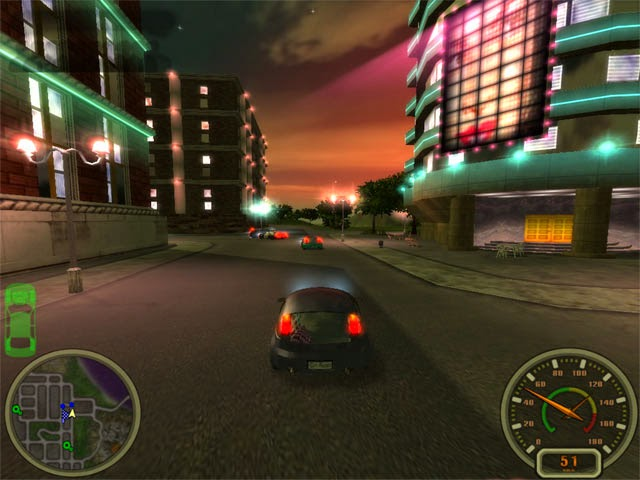 Downlod Game City Racing