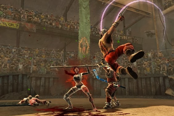 Gameplay Bloodbath: Fight for your Life for PC