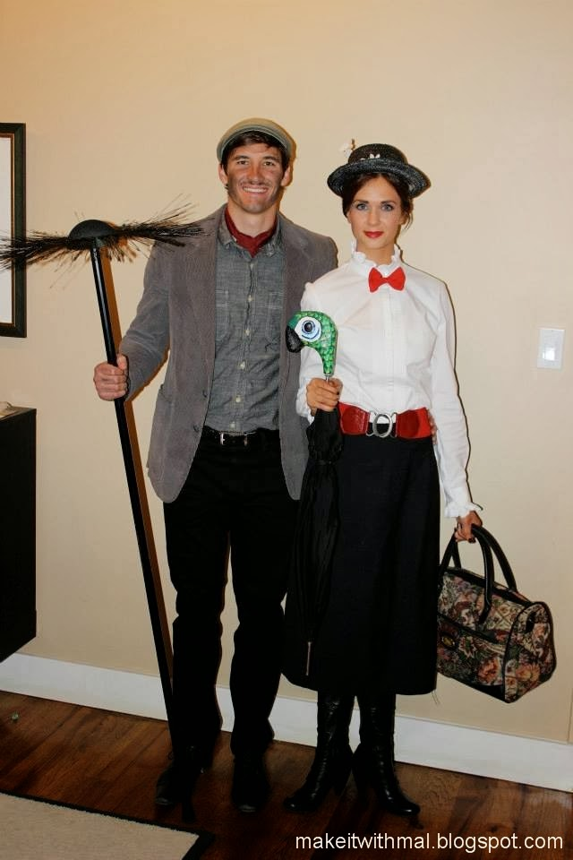 Mary Poppins Couples Costume Mary Poppins And Burt Costumes