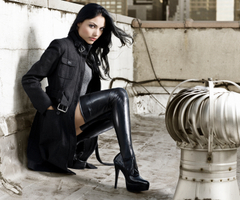 Shoes: Thigh High Boots too Women