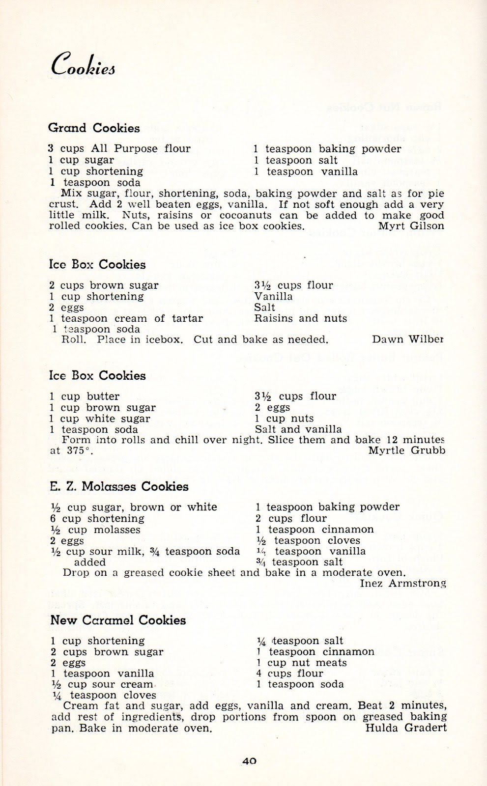 Food friday cookie recipes from the mothers of world war ii food food friday cookie recipes from the mothers of world war ii forumfinder Image collections