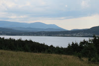 The view of Rocky Harbour