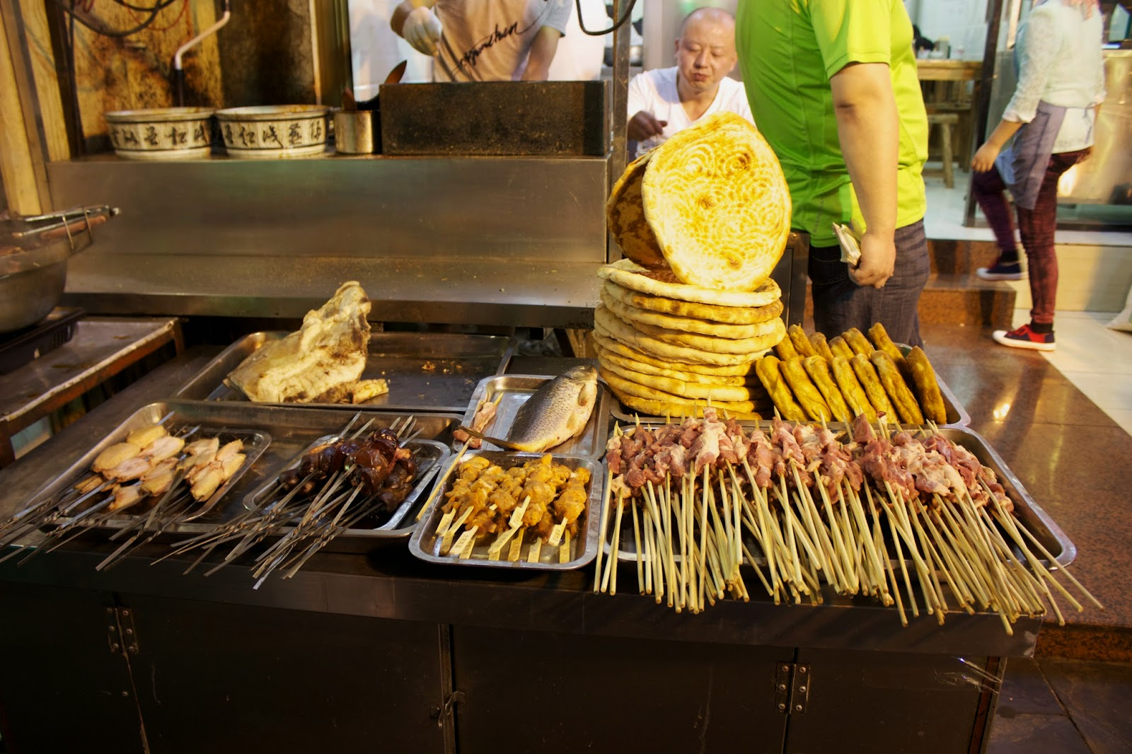 Xian night market food