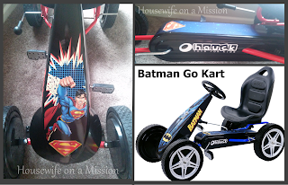 Hauck Kids Superman or Batman Go Kart Giveaway