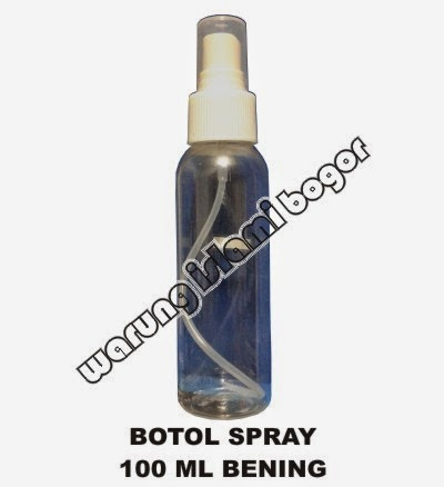 Jual Botol Spray 100ml Bening Kangen Water
