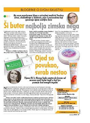 Moj text u novinama